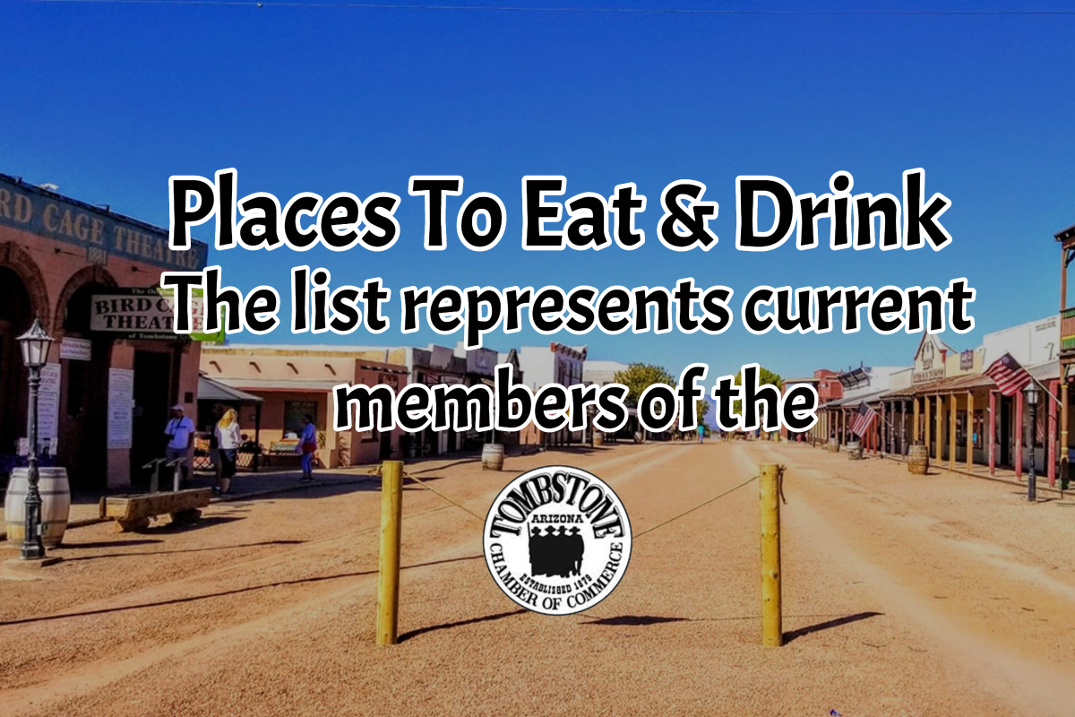 Places to Eat and Drink A
