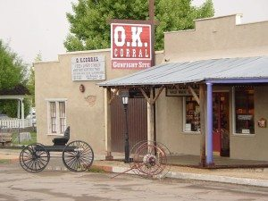 Visit and Tour the Site of the most famous gunfight in history.