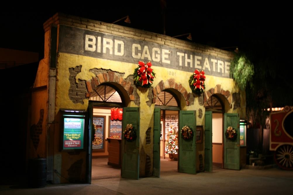 2018 Second Place<br>Bird Cage Theatre